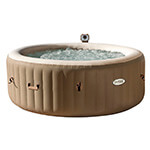 Intex Pure Spa gonflable rond 6 personnes L&G FR 28408EX