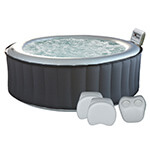 Jacuzzi gonflables Happy Garden SILVER CLOUD Pack