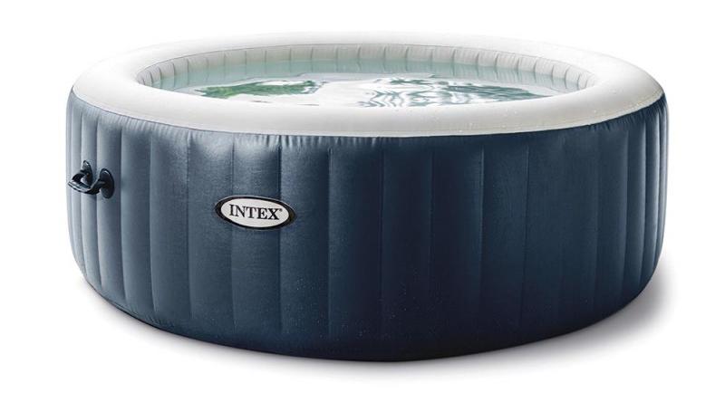 Jaccuzzi à gonfler Blue Navy 6 places de marque Intex 28432EX conseil d'achat spa pas cher les meillleure prix choix couleur et nombre de place