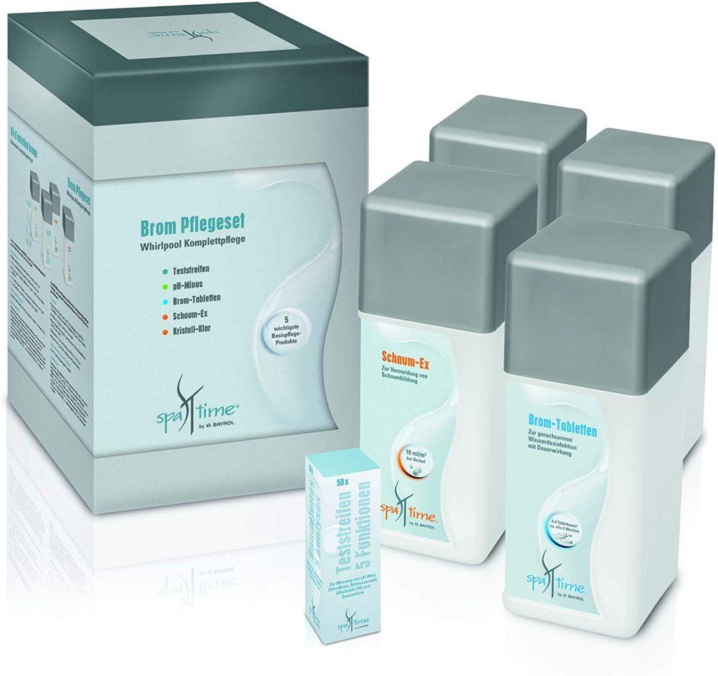 Kit Traitement Spa Pack Brome Chlore Ou Oxygene Actif